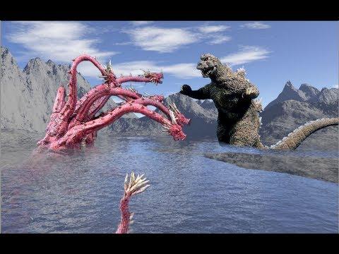Burning Godzilla Vs Hydra