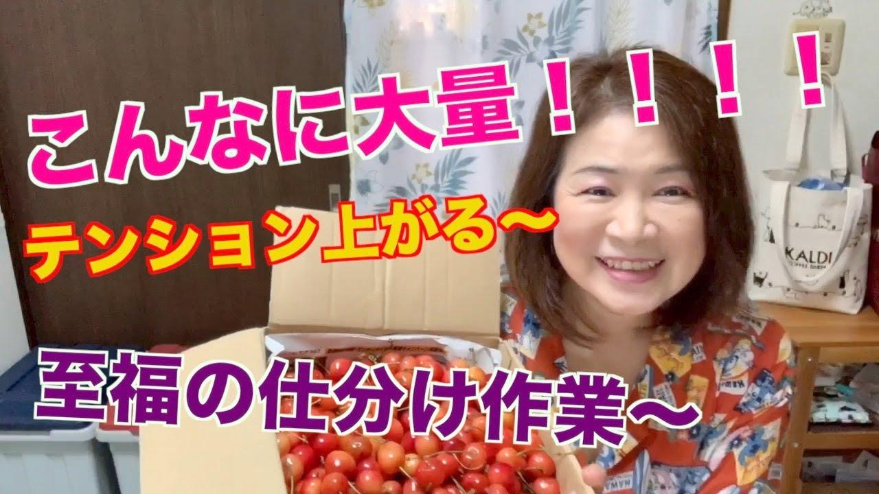 こんなに大量 至福の仕分け ジャムを作ろう!!!