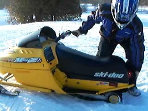 Ski Doo Mini Z Youtube