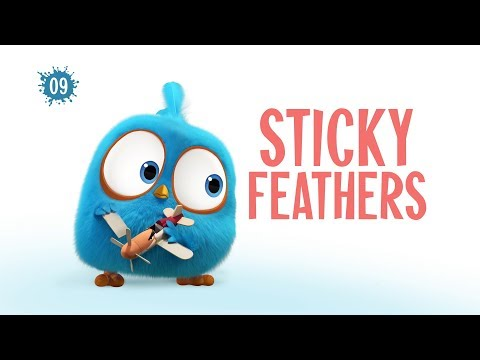 Angry Birds Blues | Sticky Feathers - S1 Ep9