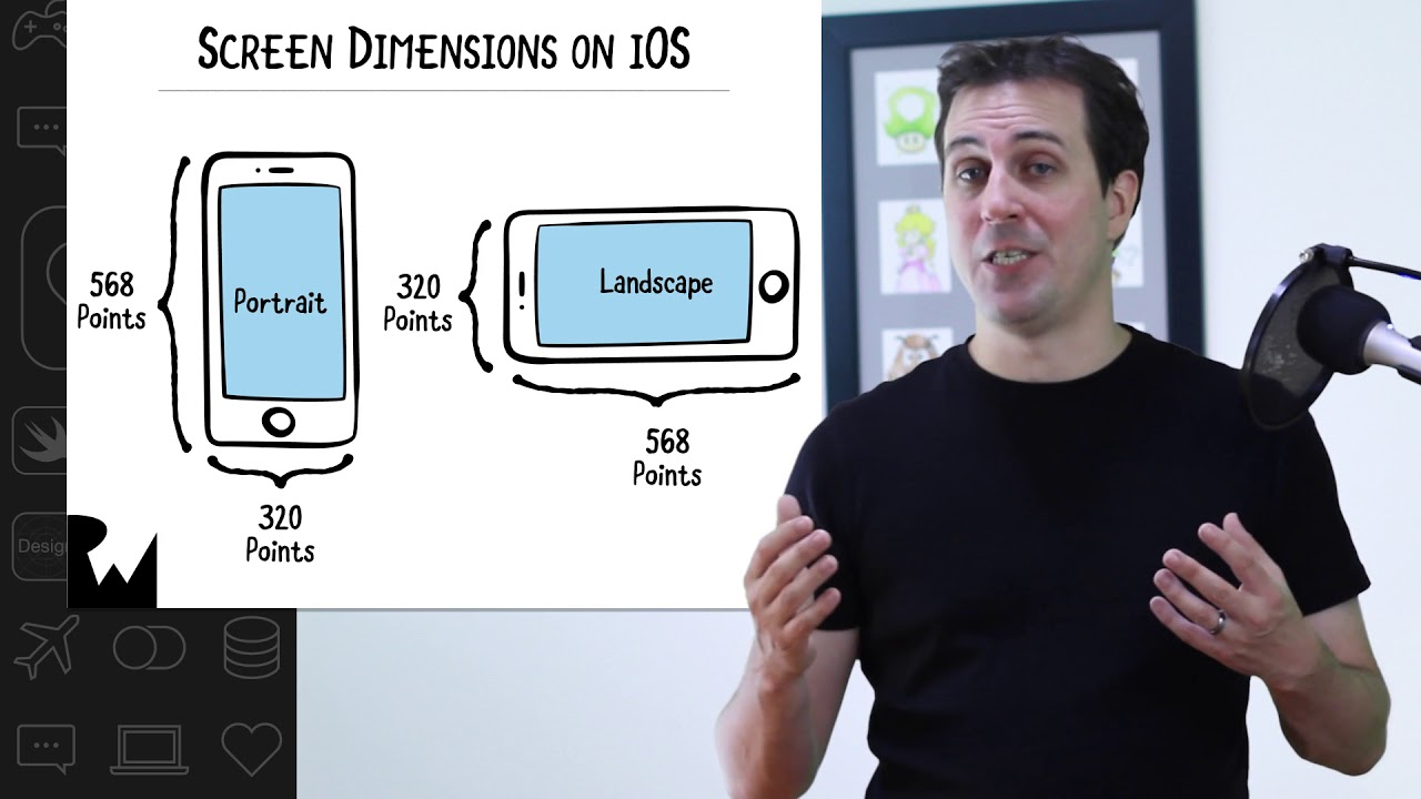 Portrait Vs Landscape Beginning Programming With Ios 11 Swift 4 And Xcode 9 Youtube