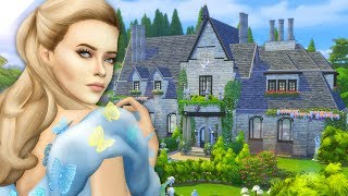 The Sims 4: Speed Build | Cinderella's Childhood Home (CC Free)