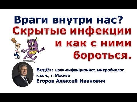 Скрытые инфекции и как с ними бороться /лекция Егоров А.И. к м н