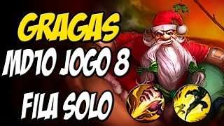 MD10 - RANKED - GRAGAS JUNGLE GAMEPLAY - LEAGUE OF LEGENDS