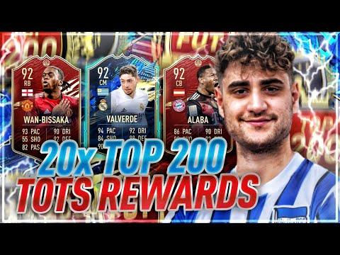 FIFA 21: 20X TOP 200 TOTS-REWARDS 🔥