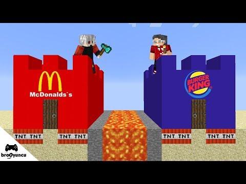 MİNECRAFT McDonald's VS