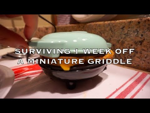 SURVIVING 1 WEEK WITH A MINIATURE GRIDDLE