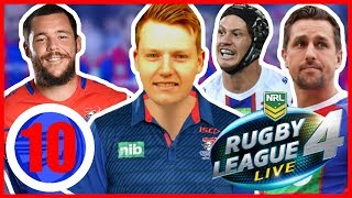 DRAGONS vs KNIGHTS (ROUND 10) | RUGBY LEAGUE LIVE 4 2019 NEWCASTLE KNIGHTS CAREER MODE