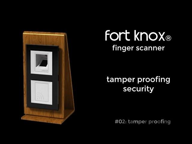 patesco.ag - fort knox - fingerprint scanner - tamper proof