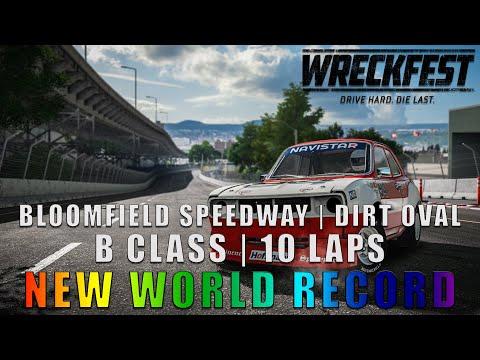 WRECKFEST - Bloomfield Speedway | Dirt Oval | B-Class (10 Laps) [WR]