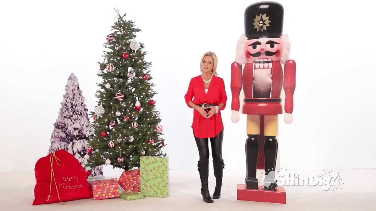 How to make a nutcracker christmas decoration - Christmas Decorations Party Supplies Nutcracker Standee Shindigz Youtube