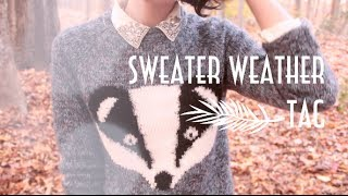 Sweater Weather Tag | Lamadelynn