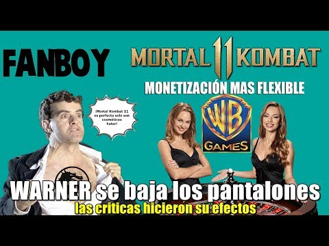 Warner cede y flexibiliza la monetización de Mortal Kombat 11   Los fanboys quedan retratados