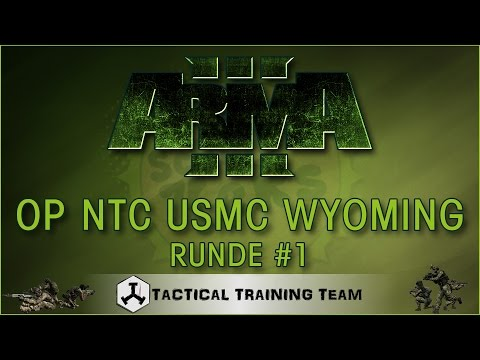 ArmA 3 [TvT] OP NTC USMC Wyoming Runde 1