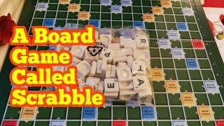 Unboxing A Board Game Called Scrabble
