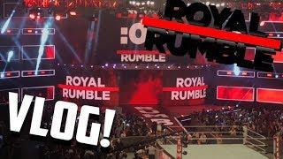 Royal Rumble 2018 Vlog!