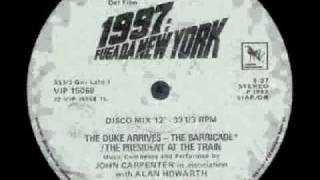 John Carpenter & Alan Howarth - 1997: Fuga Da New York
