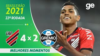 Атлетико Паранаэнсе  4-2  Гремио видео