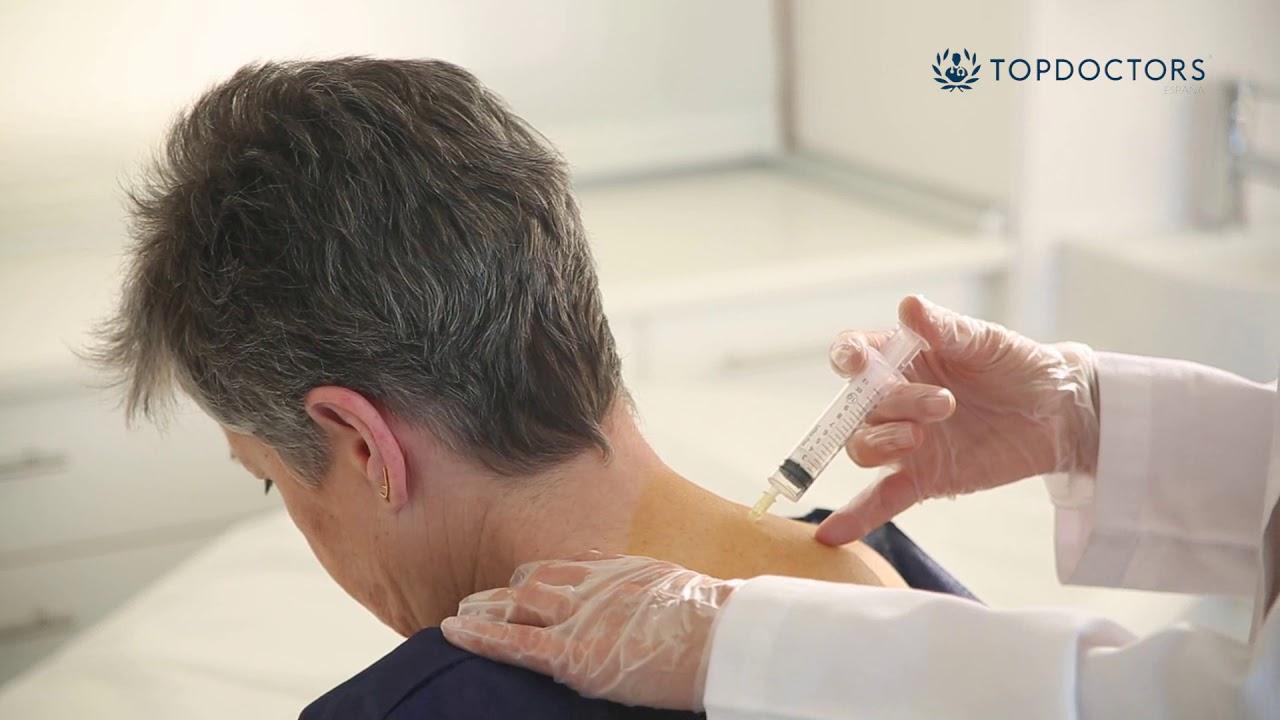tratamiento de ozono en la rodilla