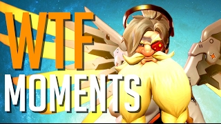OVERWATCH WTF MOMENTS #37 TORBJÖRN LIFESAVER