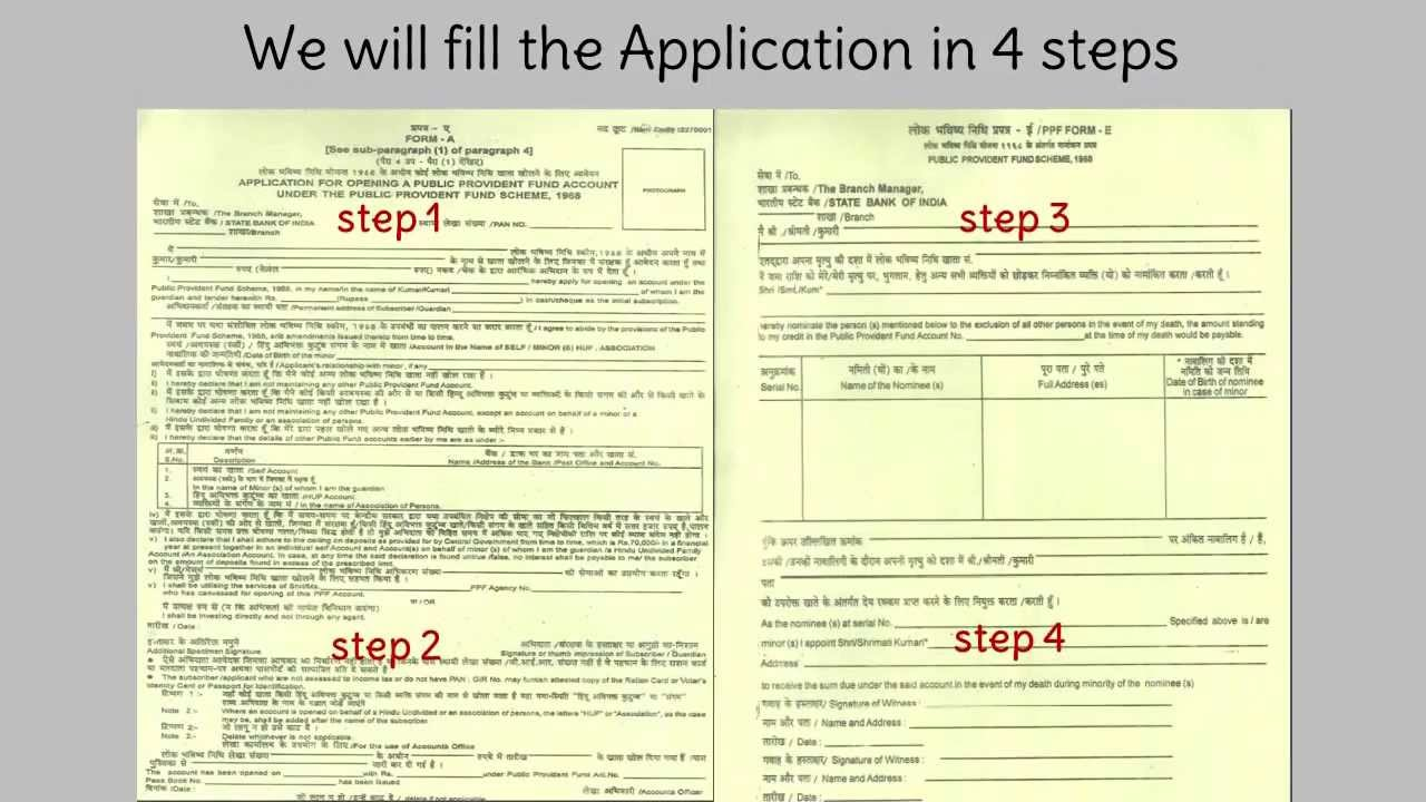 sbi job application form
