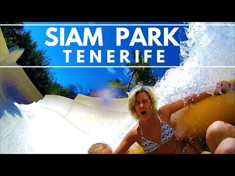 Siam Park Tour 2018 - All Rides & Attractions in 7 minutes. Onride POV 4K 60p Costa Adeje Tenerife