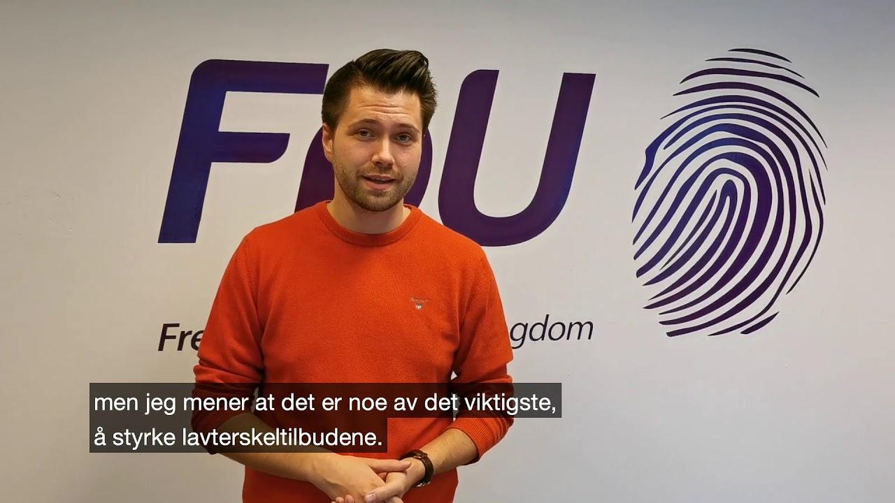 Bjørn-Kristian Svendsrud: slik vil FpU forebygge psykiske helseplager hos barn og unge