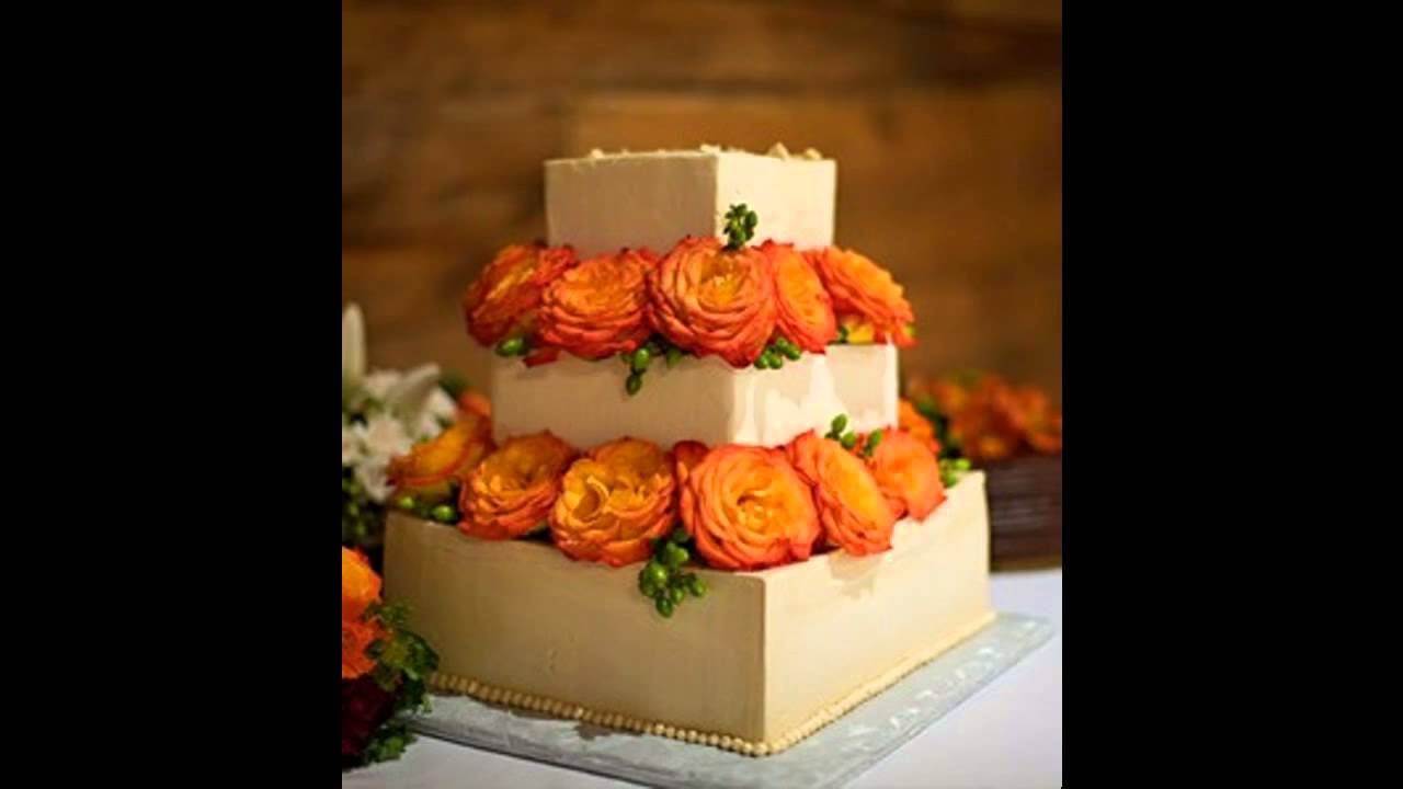 Good Fall Wedding Cake Decorating Ideas