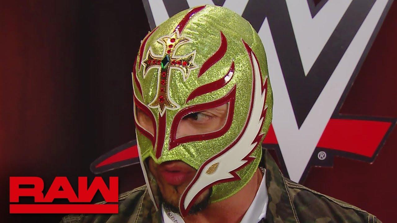 Rey Mysterio considers retirement: Raw, Aug. 19, 2019