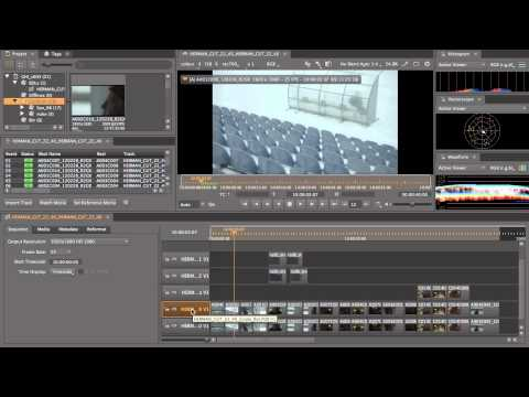 HIERO Tutorial: Introduction to Conform Workflow part 1