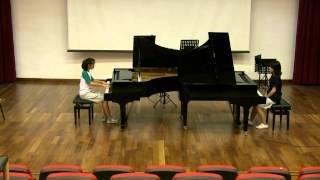 Poulenc Concerto for 2 Pianos FP61 - III. Finale - Allegro Molto