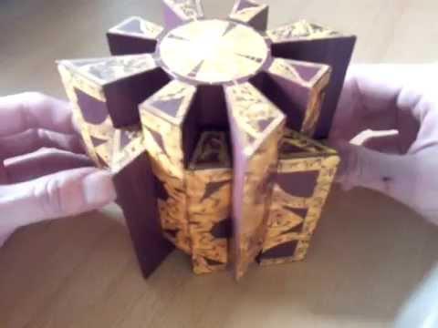 Papercraft Hellraiser Lemarchand Puzzlebox Papercraft
