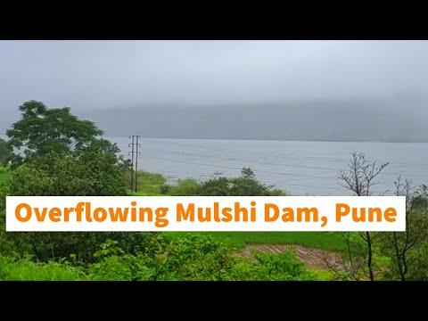 Mulshi Dam, Pune | Overflowing Mulshi Dam |