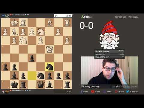 PRO Chess League: Norway Gnomes vs Estonia Horses