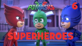 Superheroes on the Moon! Shorts Compilation Part 2 | PJ Masks | Disney Junior