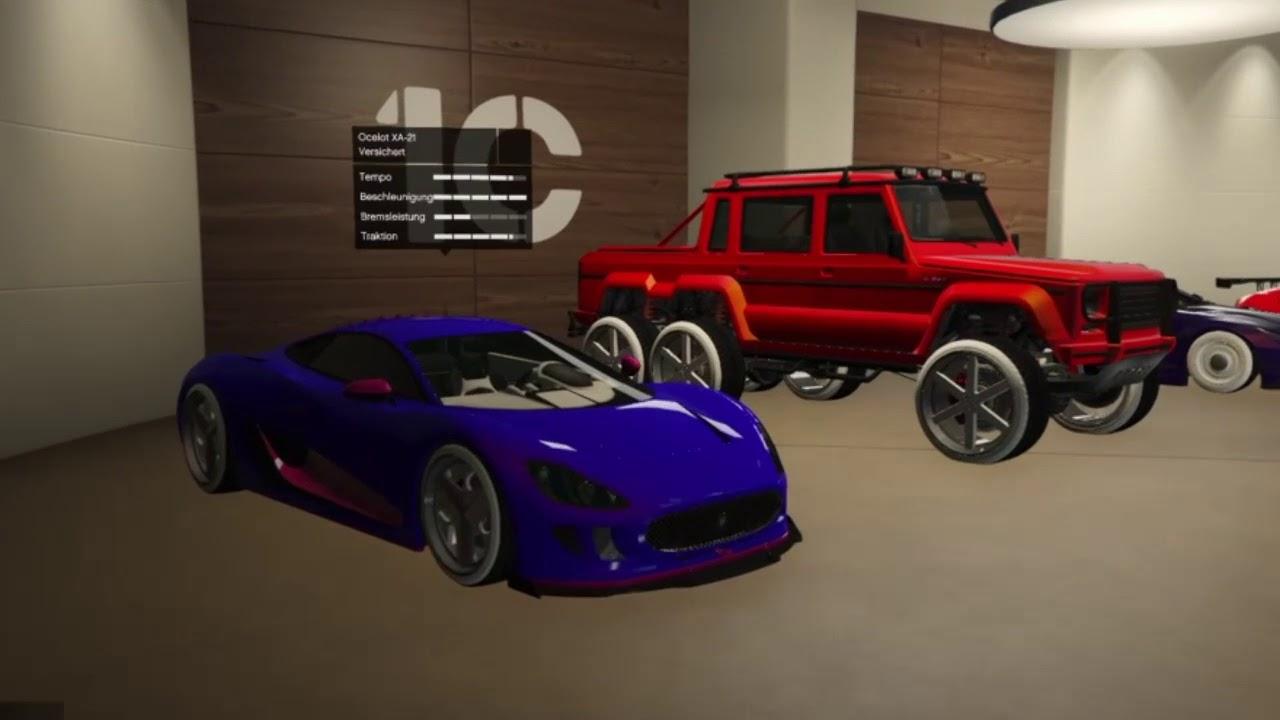 Gemoddete Autos In Gta 5 Online Youtube