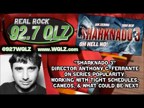 Anthony C Ferrante on Sharknado 3, Series Popularity, Working w/ Tight Schedules, & Cameos