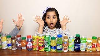 تحدي تذوق ومعرفة المشروبات !! Soda Taste Test Challenge