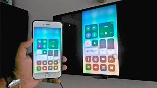 Screen Mirroring with iPhone iOS 11(Wirelessly - No Apple TV...