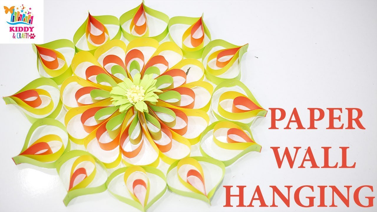 Easy Paper Craft / Wall Hanging Decoration / wall Hanging Decoration ...
