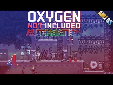Oxygen Not Included AUTOMATION[4]#อาหารทางเลือกใหม่