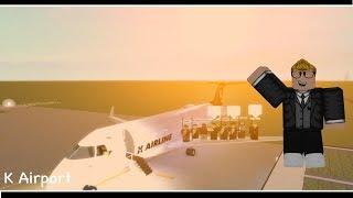 Roblox | K AIRPORT | CRJ 200 Flight | [AS FLIGHT HOST]