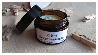 Soin crème à l'hélichryse pour les varices, varicosités, jambes lourdes