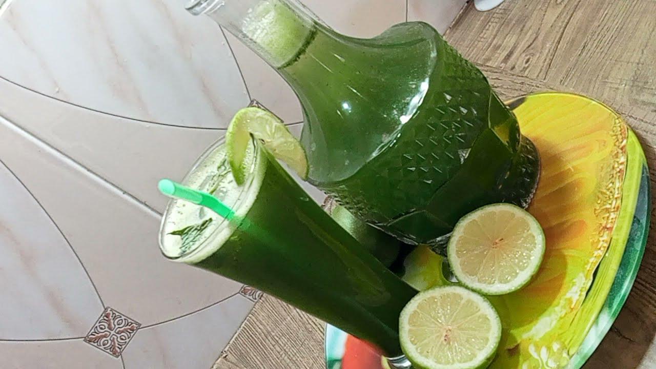 موخيتو عصير الليمون والنعناع المنعش😍 في 3 دقائق!!