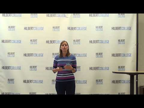 Hilbert College Agape Latte - Dr. Amy Smith