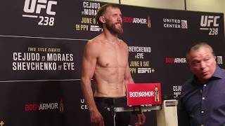 Donald Cerrone and Tony Ferguson make weight for UFC 238 fire fight