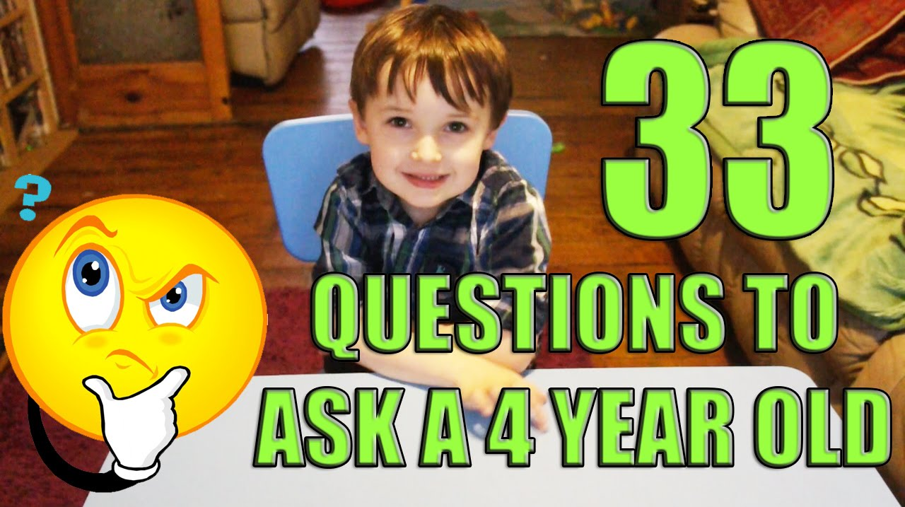 33 Questions To A 4 Year Old Fun Things To Do At Home On Rainy