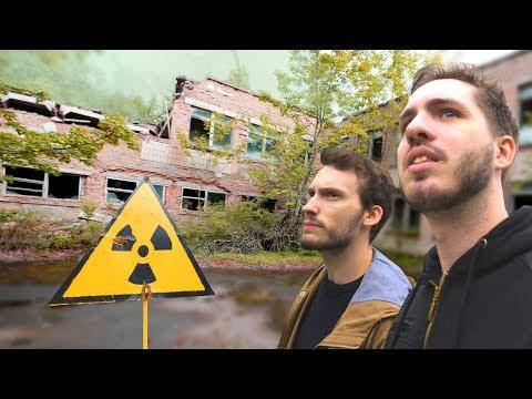 EXPLORATION DE TCHERNOBYL DANS LA ZONE RADIOACTIVE