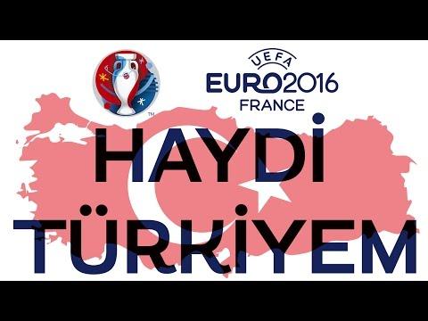 Haydi Türkiye - Murat Başaran (Official Klip) Euro 2016