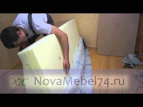 9 Обивка сидения. Как сделать диван Еврокнижка своими руками.